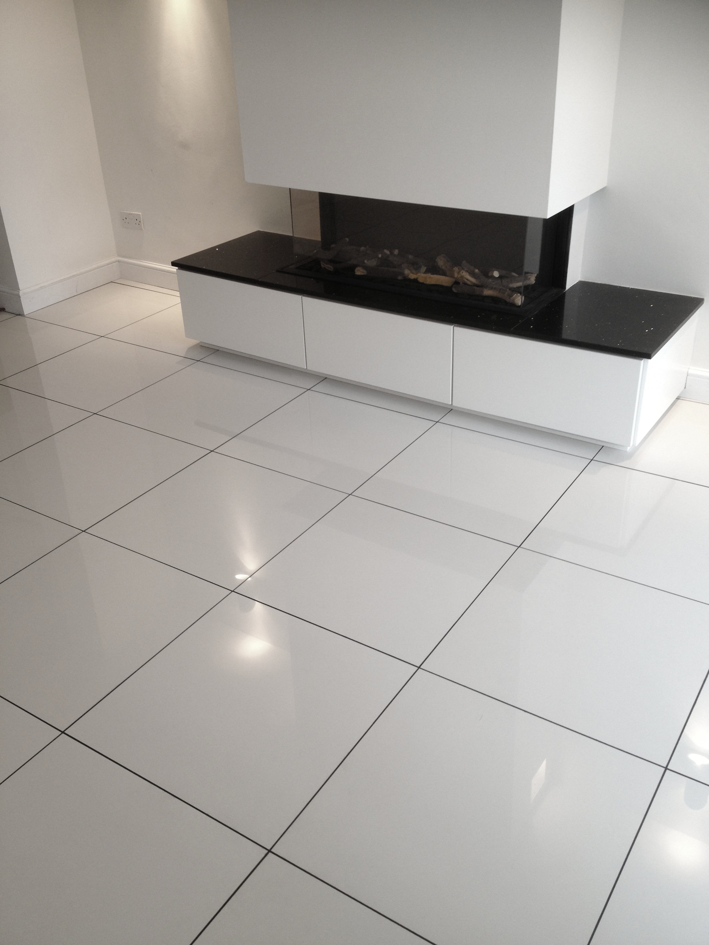 White Porcelain Floor Tile renovate your flooring with porcelaintiles and earn the shine under your feet for many years Style Selections Calacatta White Porcelain Floor And Wall Tile Common
